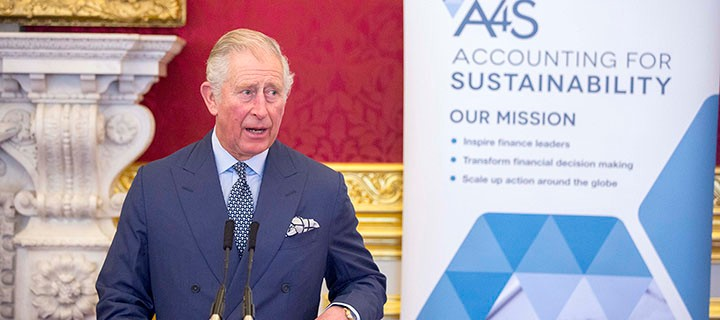 LONDON - UK - 16th Nov 2017.Accounting for Sustainability  A4S, CFO and Investor Session held at St James's Palace in London and hosted by HRH The Prince of Wales.