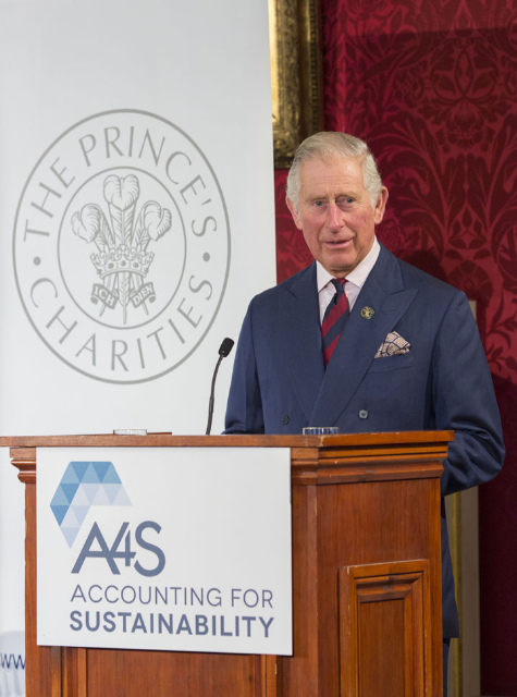 HRH The Prince of Wales speaking at the A4S Summit 2016